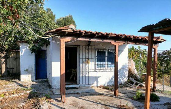 ID 884 Къща 40м2 с двор 500 м2 в Лефкес (Епаноми)