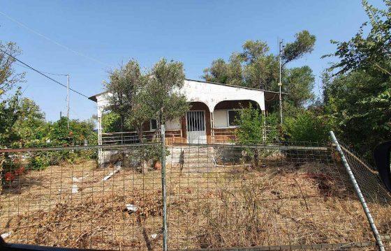 BO_03 Парцел за строеж със стара къща във вилната зона на Неа Каликратия, Халкидики, 200м от морето