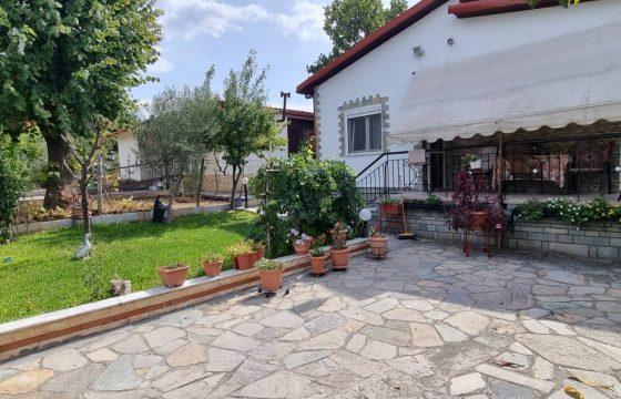 ID 916 Самостоятелна къща 90м2 с двор 500м2 в Неа Каликратия, Халкидики